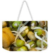 Cross Section Of Some Healthy Sprouts Weekender Tote Bag