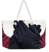 Crossed Hands Weekender Tote Bag by Joana Kruse