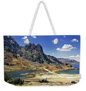 Crossing The Andes Weekender Tote Bag