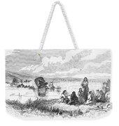 Crossing The Platte, 1859 Weekender Tote Bag by Granger