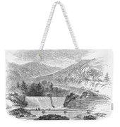 Croton Dam, 1860 Weekender Tote Bag