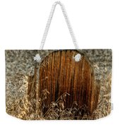 Crow On Old Wooden Grave Weekender Tote Bag