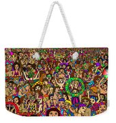 Crowded Swimming Pool Weekender Tote Bag