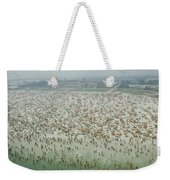 Crowds Of People At Jones Beach Weekender Tote Bag
