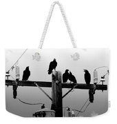 Crows And Insulators On Route 66 Weekender Tote Bag