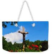 Crucifix In Indian River Weekender Tote Bag