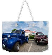 Cruise Night At The Diner Weekender Tote Bag