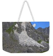 Crumble Mountain Weekender Tote Bag