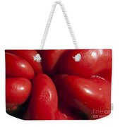Crunchy Red Pepper Weekender Tote Bag