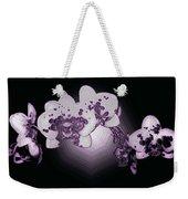 Crystal Butterfly Orchid Weekender Tote Bag