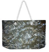 Crystal Clear Bubbles Weekender Tote Bag