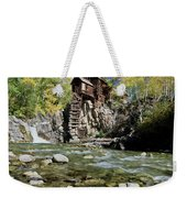 Crystal Mill In Autumn Weekender Tote Bag