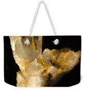 Crystal On Black Weekender Tote Bag
