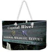 Crystal River Weekender Tote Bag