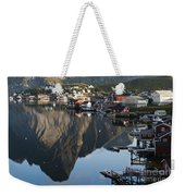 Crystal Waters At Reine Village Weekender Tote Bag