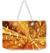 Crystallized - Digital Art Abstract Weekender Tote Bag