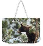Cub In Tree Weekender Tote Bag