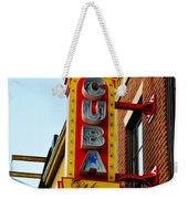 Cuba Libre Weekender Tote Bag
