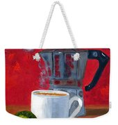 Cuban Coffee And Lime Red R62012 Weekender Tote Bag