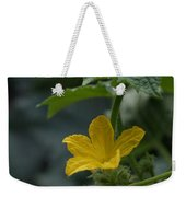 Cucumber Flower Weekender Tote Bag