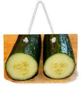 Cucumber Weekender Tote Bag