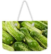 Cucumbers  Weekender Tote Bag by Elena Elisseeva