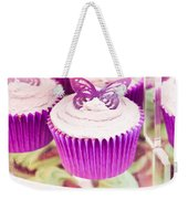 Cup Cakes Weekender Tote Bag