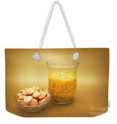 Cup O Soup And Oyster Crackers Weekender Tote Bag