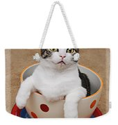 Cup O Tilly 3 Weekender Tote Bag by Andee Design