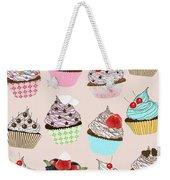 Cupcake  Weekender Tote Bag