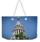 Cupola Atop St Peters Basilica Vatican City Italy Weekender Tote Bag