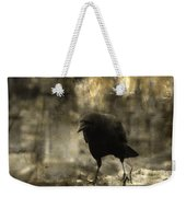 Curiosity Of The Graveyard Crow Weekender Tote Bag