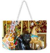 Curious Carousel Beasts Weekender Tote Bag