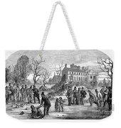 Curling, 1853 Weekender Tote Bag