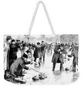 Curling, 1884 Weekender Tote Bag