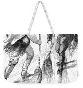 Curling Players, 1885 Weekender Tote Bag