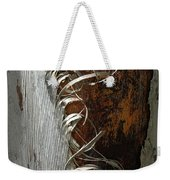 Curly Bark Of A Palm Tree Weekender Tote Bag