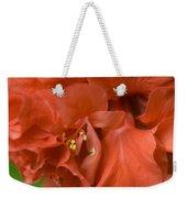 Curly Hibiscus Weekender Tote Bag