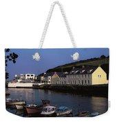 Cushendun Harbour, Co Antrim, Ireland Weekender Tote Bag
