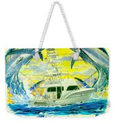 Custom Artwork Weekender Tote Bag