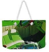 Custom Interior Double Exp. Weekender Tote Bag
