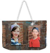 Custom Photo Portrait Group Weekender Tote Bag