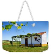 Cute House Weekender Tote Bag by Carlos Caetano