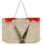 Cutting Flowers Weekender Tote Bag