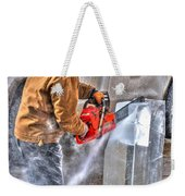Cutting Ice Weekender Tote Bag