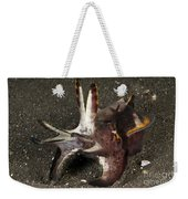 Cuttlefish With Tentacles Extended Weekender Tote Bag