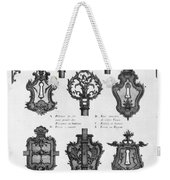 Cuvilli�s: Locks And Keys Weekender Tote Bag