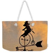 Cycling Pig Weekender Tote Bag