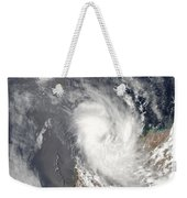 Cyclone Dominic Off The Shore Weekender Tote Bag