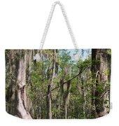 Cypress Trees And Water Hyacinth In Lake Martin Weekender Tote Bag